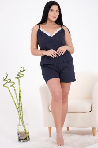Пижама женская 44431  Темно-синий