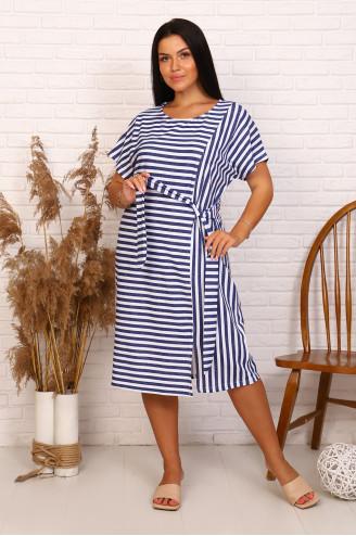 Платье женское 63672  Синий