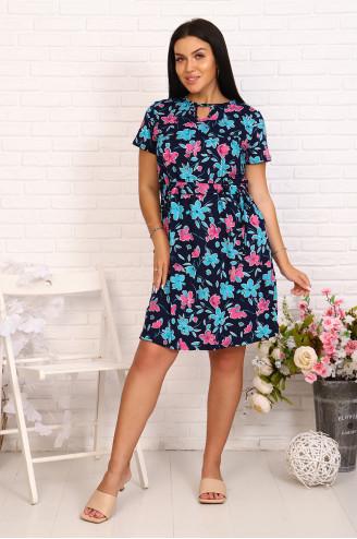 Платье женское 80073  Чернильный