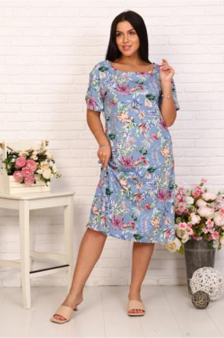 Платье женское  КОЛИБРИ  Индиго