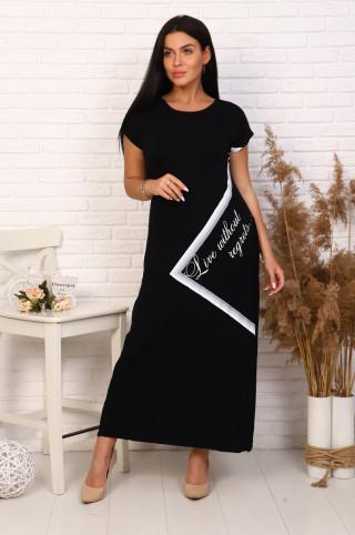Платье женское 03631  Чёрный