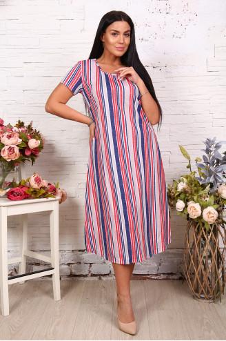 Платье женское  29572  Синий