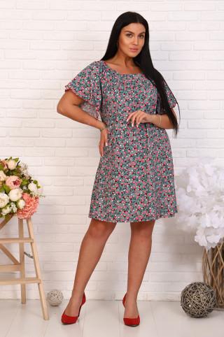 Платье женское 03342  Зелёный