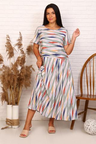 Платье женское  13672  Хаки