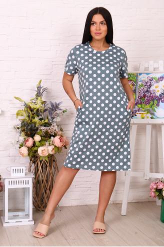 Платье женское 78511  Хаки