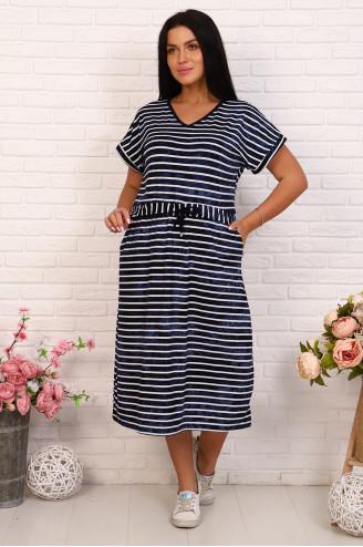 Платье женское 85062  Полоска