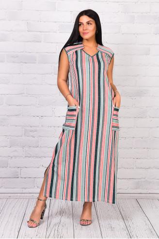 Платье женское 32252  Зелёный