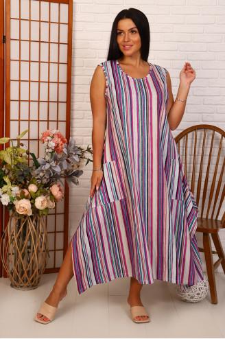 Сарафан женский   66062  Розовый