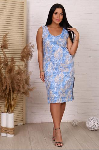 Сарафан женский  20073  Голубой