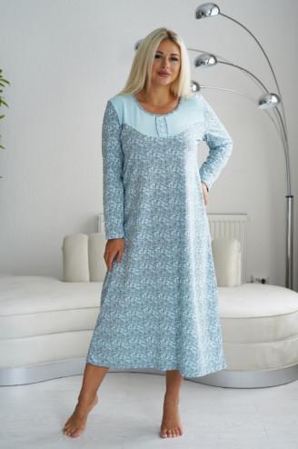"""Сорочка женская """"УСЛАДА""""   Голубой"""