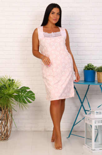 Сорочка женская  РОЗА  Розовый