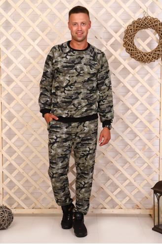 Костюм мужской с брюками  08541  Хаки