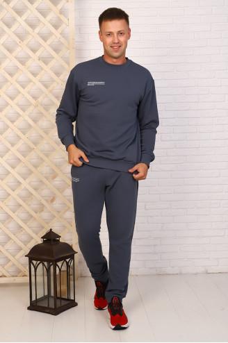 Костюм мужской с брюками 08061  Графитовый