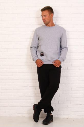 Костюм мужской с брюками  30731  Серый