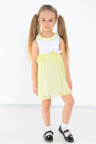Платье детское Сьюзен  Жёлтый