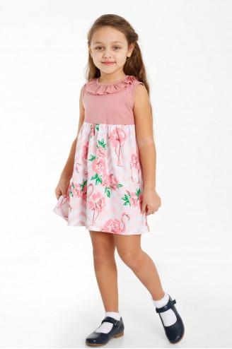 Платье детское Эйприл  Сухая роза